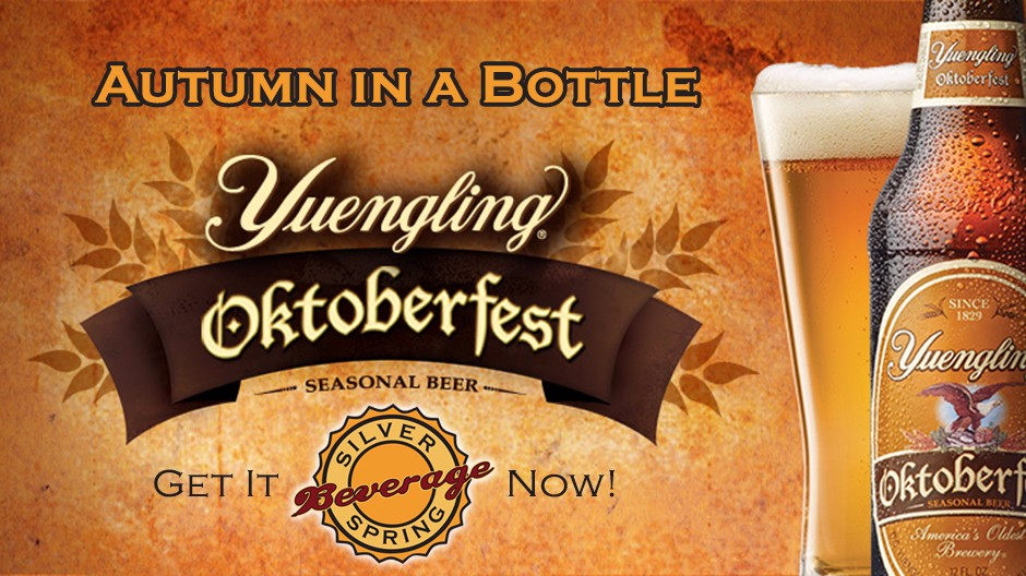 Yuengling Oktoberfest Now Available at Silver Spring Beverage - Mechanicsburg PA