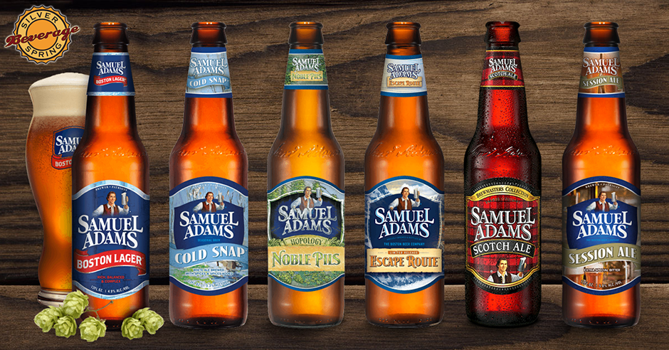Sam Adams Spring Variety 2 12nrs 2 00 Off Sam Sampling 4